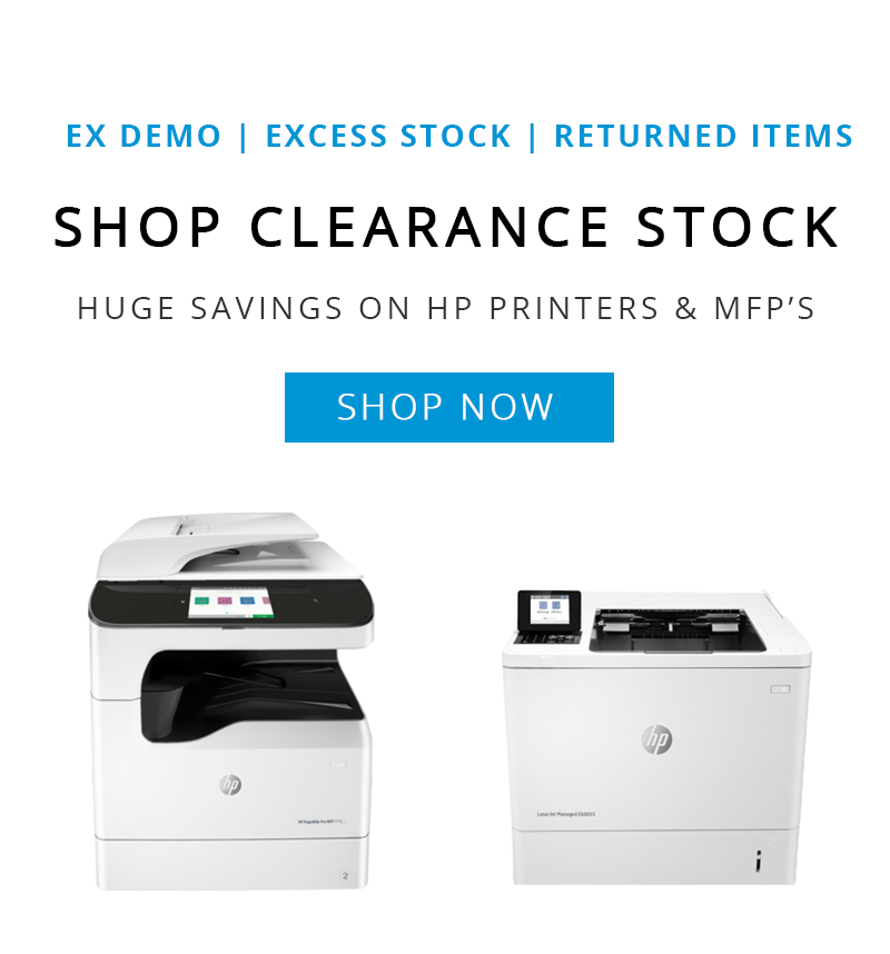 HP PageWide and LaserJet Printers & MFP's from the UK's Only HP