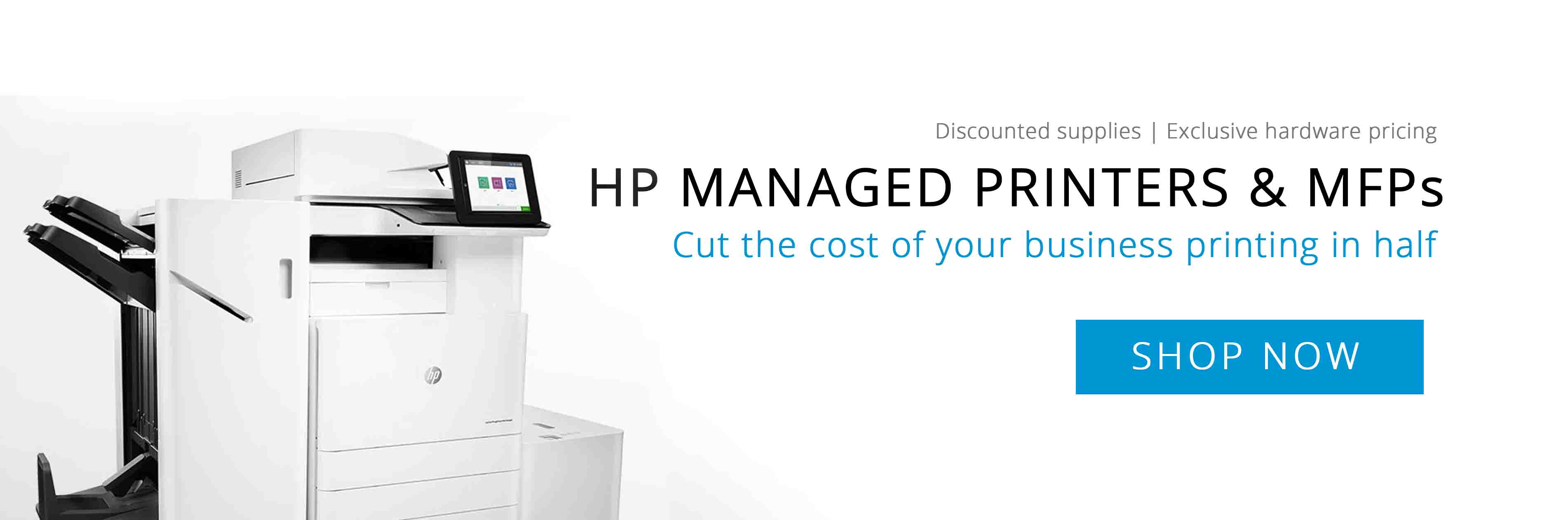 Homepage main - HP Managed printers & MFPs