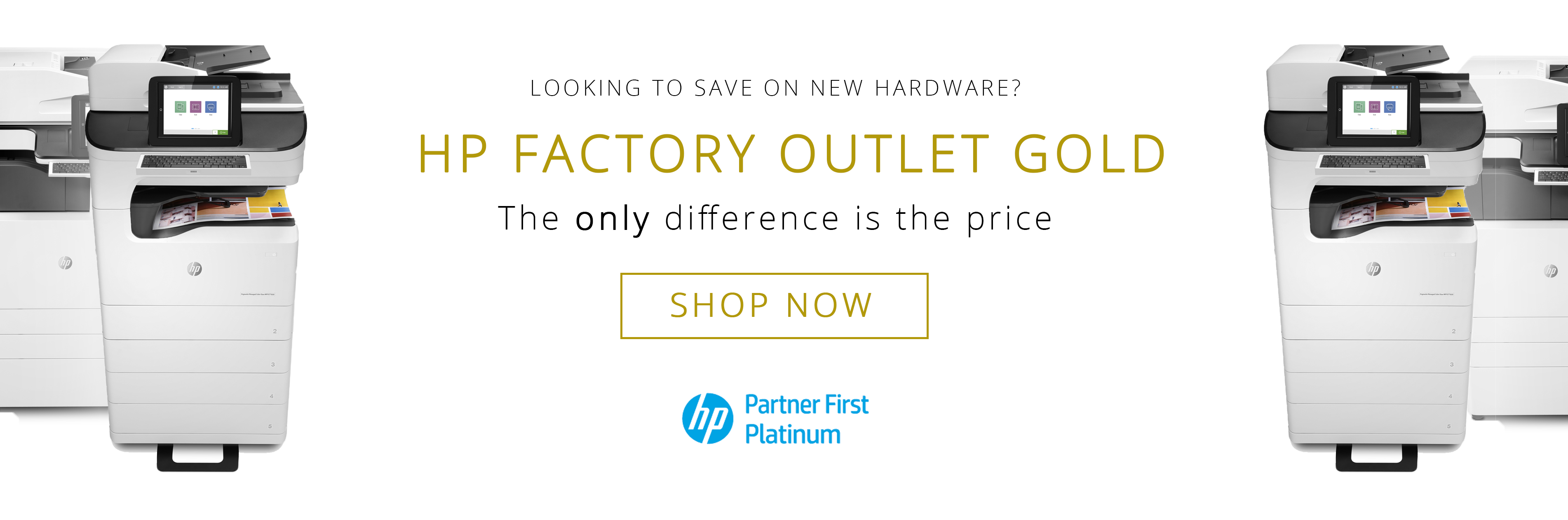 Factory Outlet - with partner logo